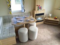 brand new static caravan for sale, 12 month seafront park, isle of wight, low site fees, 8 berth