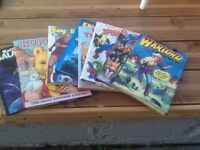 Eight retro annuals, collectable eight annuals eight from early eighties