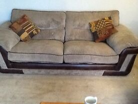 Two 3 seater sofas. Excellent condition.