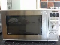 Panasonic NN-GD371S Combination Microwave and Grill, Silver stainless steel