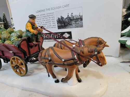 Dept 56 Bachman - Loading the Squash Cart 110th Anniversary Special Edition