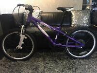 """20"""" girls Carrera Luna bike"""
