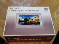 For sale Alba photo frame, new, still in box.