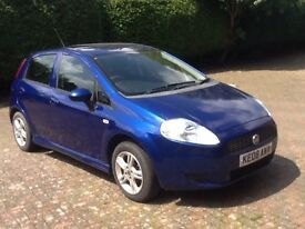 2008 Fiat Punto 34500 miles, one lady owner, good condition, full service history.
