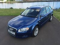 AUDI A4 full MOT 6 month warranty.