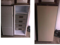 HOTPOINT TALL FREEZER 53 INCHES HIGH X 21.5 INCHES WIDE SEE DETAILS BELOW