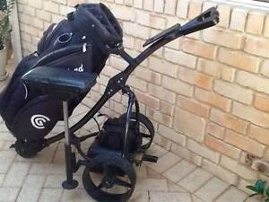 ELECTRIC GOLF BUGGY AND GOLF BAG - Padbury Joondalup Area Preview