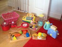 Wooden kitchen plus accessories