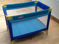 Mothercare Little Tikes Travel Cot