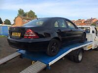 2001 MERCEDES C180 CLASSIC BREAKING ALL PARTS