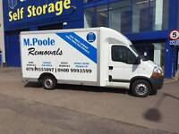 house removals/ man with a van services- M.Poole Removals based in alvaston