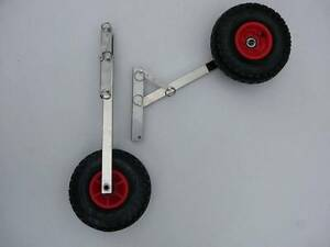 S/STEEL BOAT LAUNCHING WHEELS FOR DINGHY, INFLATABLE, TINNY. Thornlands Redland Area Preview