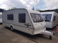 Bailey Pageant Mosselle 4 berth caravan AWNING, VGC, Bargain !!