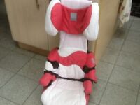 """For 4yrs upto 12yrs(15kg-36kgchild weight)-teriffic Concord """"ELITE"""" 2 piece booster car seat-£30"""