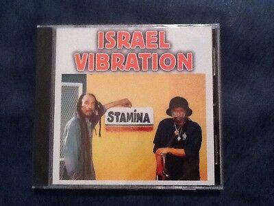 Israel Vibration  Stamina  Cd Mediacom  2007  Roots Reggae New Sealed Rare