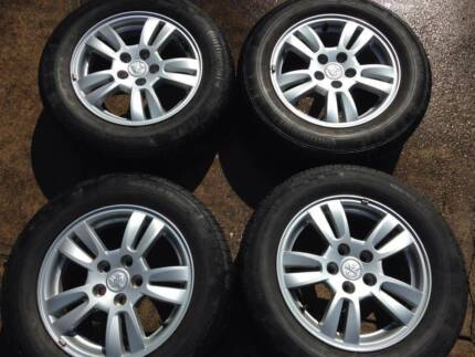 2013 Holden Barina 15x6 Alloy Wheels x 4 Galston Hornsby Area Preview