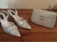 Shoes and matching bag
