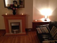 Larger than most one bedroom first floor flat, excellent central location, Broomhill Road