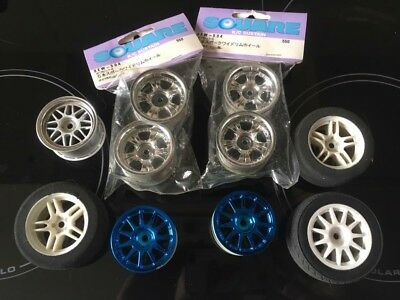 Tamiya M03 M03R M01 M05 Wheels/Rims Square HPI