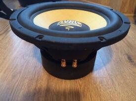 Audio system sub woofer