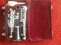 Jupiter student clarinet.