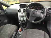 1 Litre Vauxhall Corsa Petrol - 10 plate. Black. Perfect little car