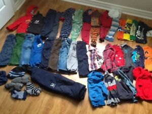 LOTS of clothes for fall-winter for boys 2T/SourisMini snowpants