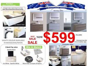 SATURDAY SALE Bathroom Vanity Toilet - Tapware - Sink Forest Hill Whitehorse Area Preview