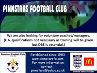 Under 14 Manager/Coach Wanted