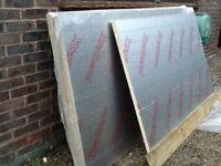 4 and a half sheets 30mm insulation sheets