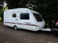 Swift Fairway 460 2 berth caravan 2007, VGC, Awning, Light to tow, Bargain !