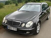 2004 MERCEDES E270 CDI AVANTGARDE AUTO ESTATE DIESEL FULL HISTORY 7 SEATER