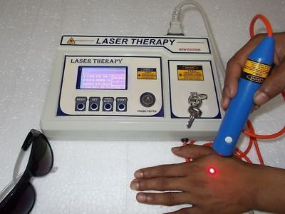 New Computerised Low Level Laser Therapy Machine For Physiotherapy Machine