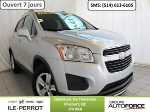 2013 CHEVROLET TRAX FWD LT, MAGS, BLUETOOTH,