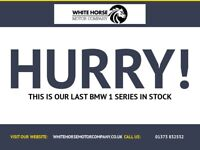 BMW 1 SERIES 2.0 118D SPORT PLUS EDITION 2d AUTO 141 BHP (black) 2013