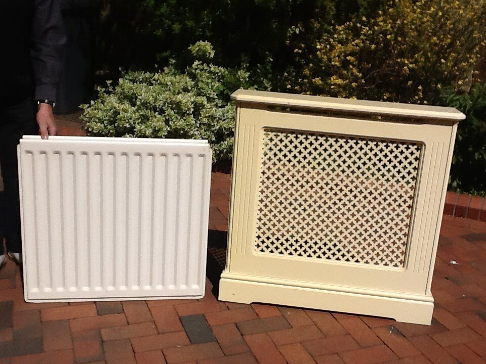"""Double Panel Radiator with Coverin Middlesbrough, North YorkshireGumtree - 27"""" high x 29"""" wide double panel radiator, good condition, with cover to suit. Will sell separately if required"""
