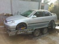 2000 Honda Civic 1.6 sport parts