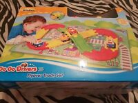 track with cars brand new in box also other new toys x