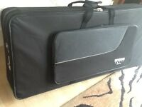 Wheeled Spider soft keyboard flight case used once only