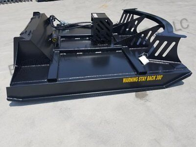 84 Deck-78 Cut Xbc-7 Extreme Skid Steer Brush Cutter-3 Blade