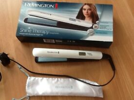 Remington shine therapy straightners variable heat up to 230
