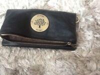 Men's mulberry clutch bag, black, good condition