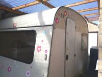 Vintage caravan trailer 'Sprite C1' for sale.