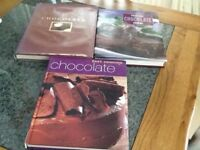 Chocolate cook books x 3