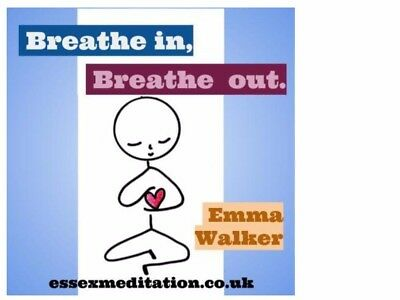NEW! Breathe in Breathe out Mindfulness Meditation CD Relax  Unwind Feel Better