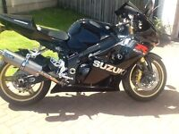Suzuki gsx-r 1000 black limited edition 2005 k4
