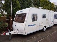 2007 Bailey Ranger 470/4 4 Berth caravan Light To Tow, VGC, Awning, Bargain !