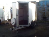 Ifor Williams box van trailer bv85g