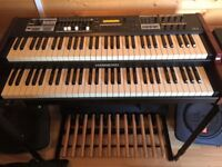 Hammond SK2 dual manual organ w/gig bag and halfmoon Leslie switch