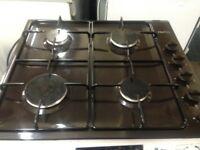proline brown 4 burner gas hob